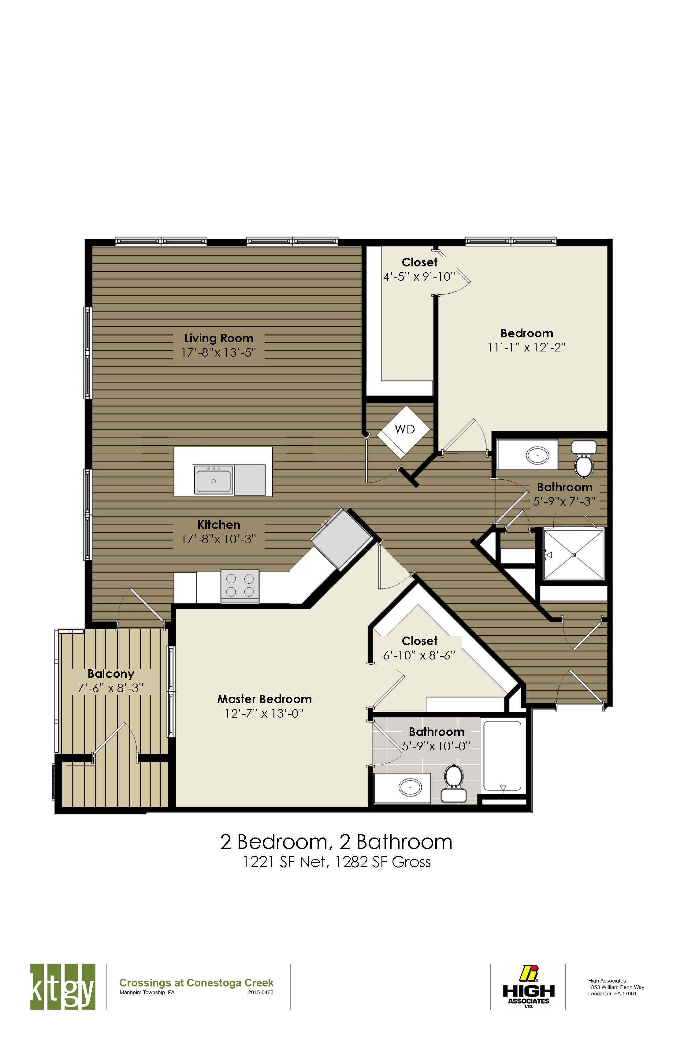 2 Bedroom - Demuth